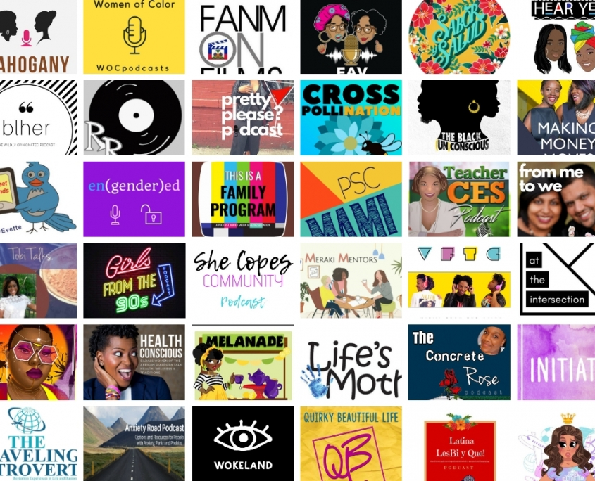 Podcasts by women of color WOC Podcasters