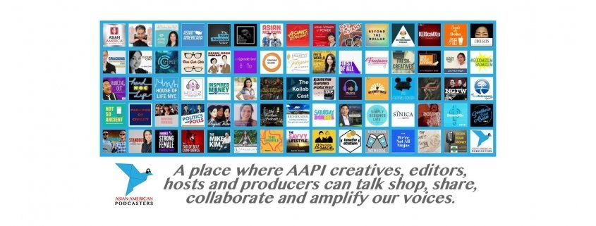 Asian-American Podcasters Community founded by Lee Uehara and Andrew Wang.