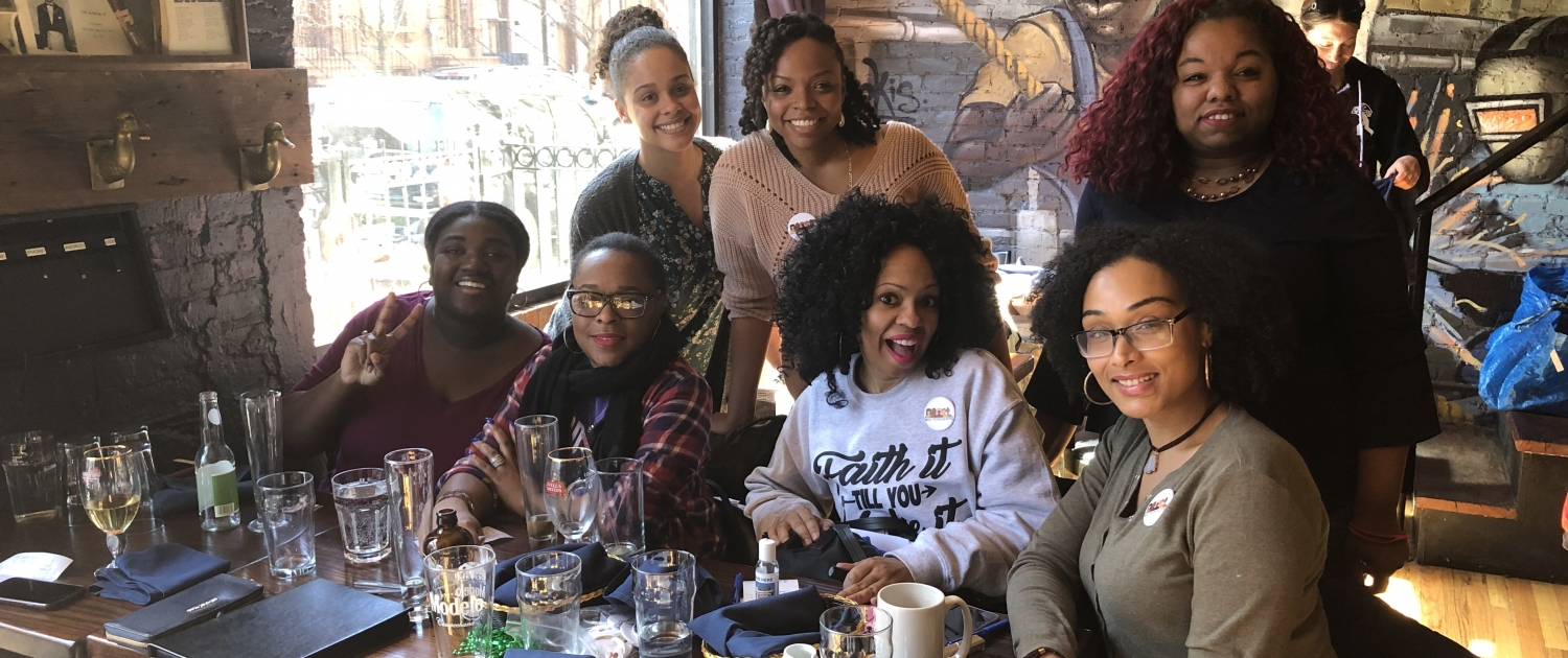 WOC Podcasters Meet Up NYC