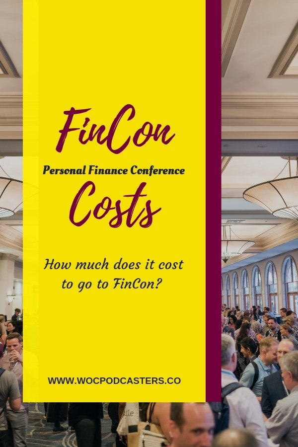 How much does it cost to attend FinCon, the personal finance blogger conference.