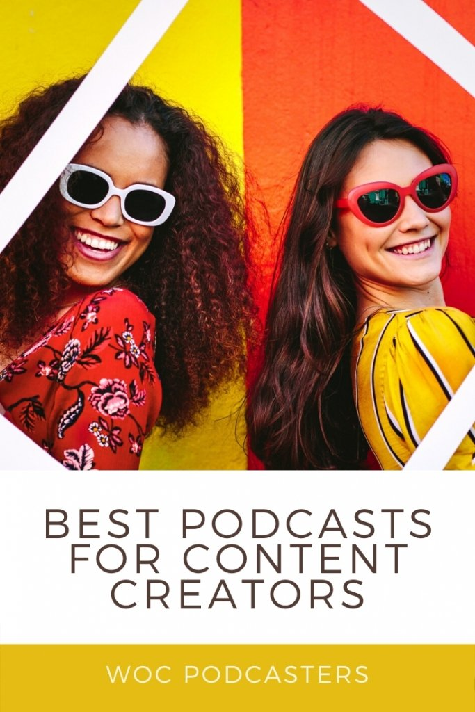 Podcasts that are perfect for content creators.