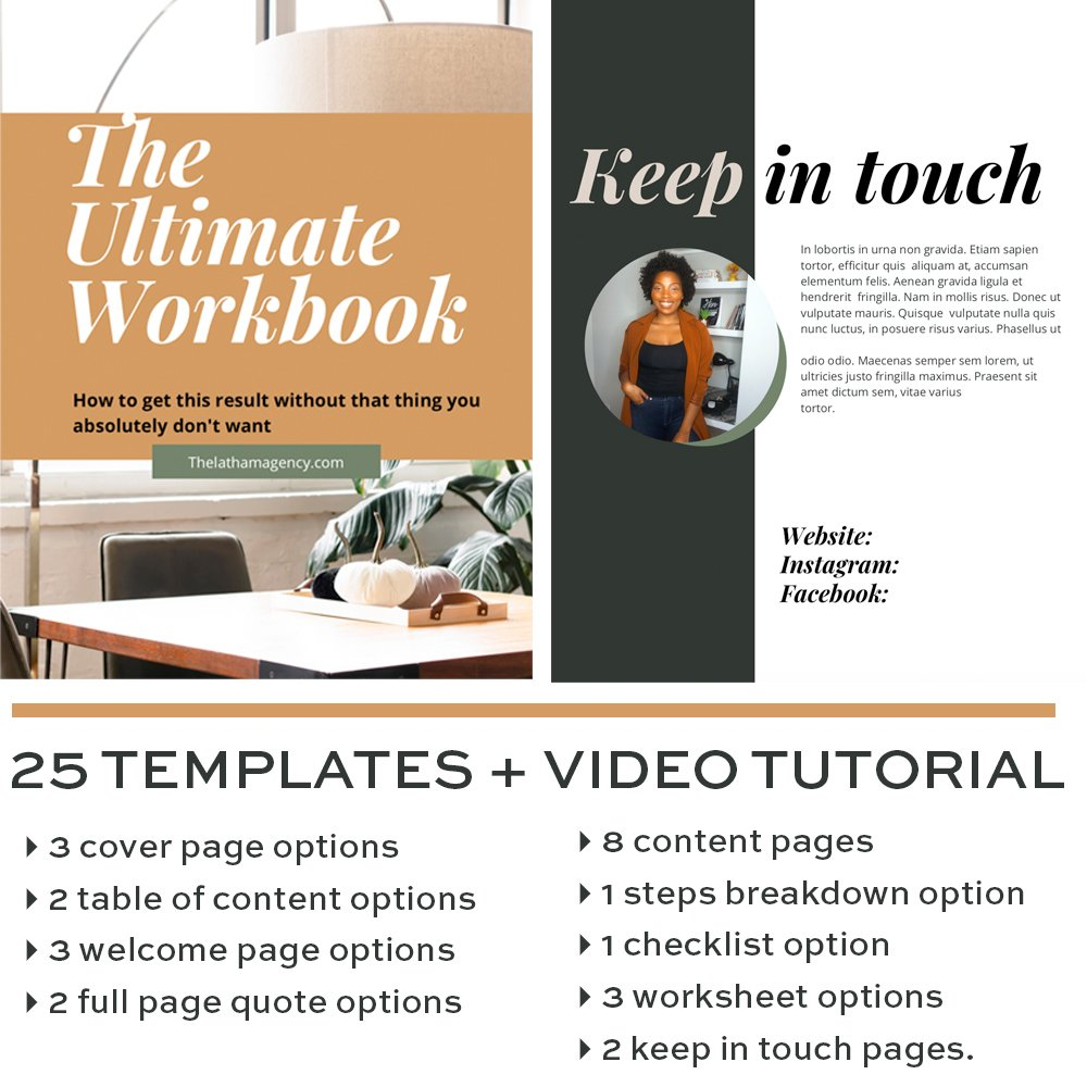 Canva templates by Candice Latham