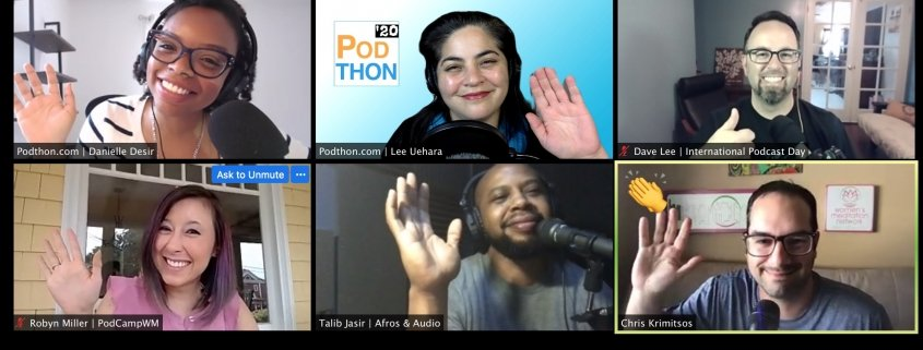 Get tickets to Podthon '20 happening July 18-19, 2020