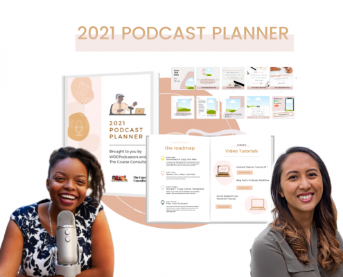 2021 Podcast Planner, Checklists, and Templates