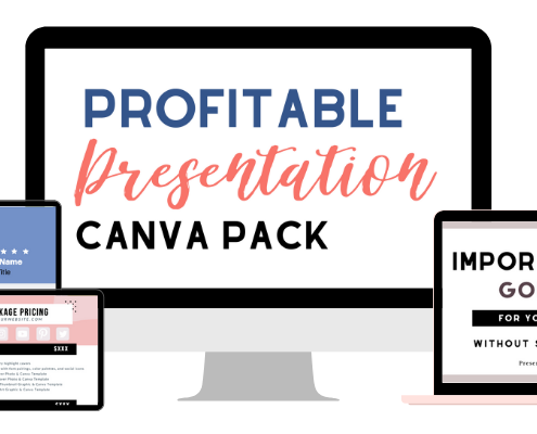 Profitable Presentation Canva Templates For Podcasters and Small Businesses